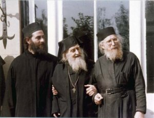 hegoumen-father-kyrill-and-hieromonk-father-simeon-with-blessed-elder-sophrony